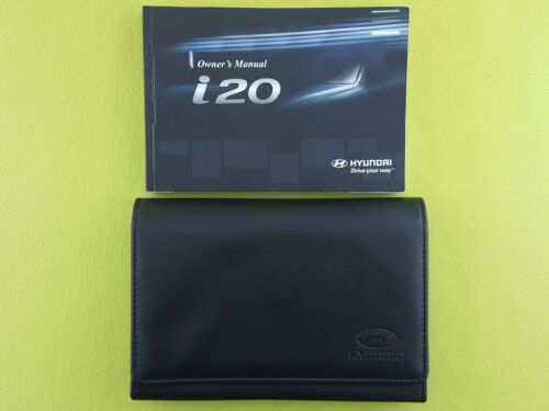 2008-2012 Owners Manual // Handbook HYUNDAI i20 Case // Wallet