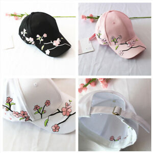 Adjustable-Women-Summer-Hats-Flower-Embroidery-Hat-Female-Baseball-Cap
