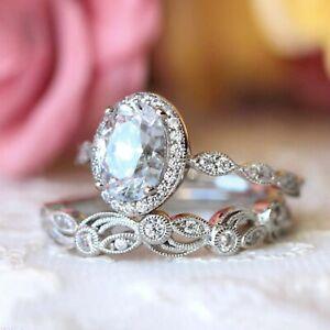Leaf halo 925 Sterling Silver Ring