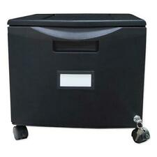 Single Drawer Mobile Filing Cabinet 1475w X 1825d X 1275h Black