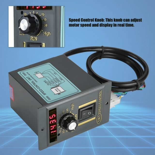 Broadroot 400W AC 220V Motor Drehzahlregler Pinpoint Regler Controller vorw Neu