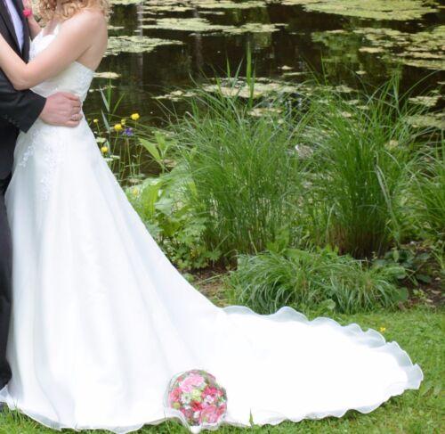 Größe Elfenbein Hochzeitskleid 36 Hochzeit Kleid Brautkleid Farbe xPZqXIZ