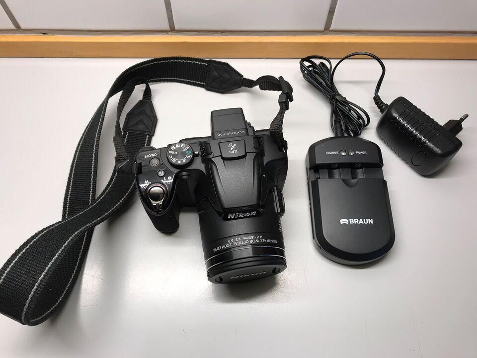 Nikon COOLPIX P510, spejlrefleks, 16 megapixels
