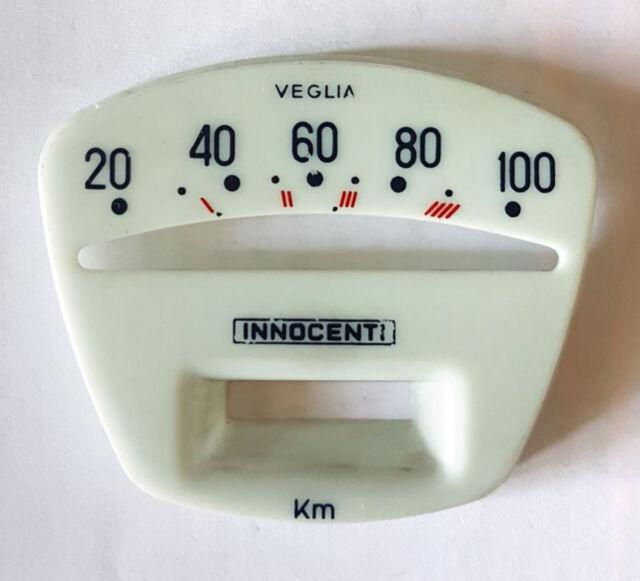 Quadrante Lambretta Serie 2 scala 100 KM/H - Speedometer - Contachilometri