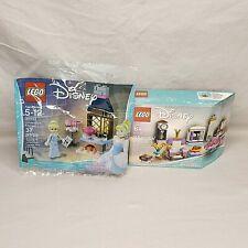 Lego Set Lot 40264 Friends City and 40307 Disney Princess Castle Interior NEW!
