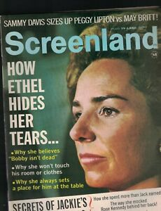 Screenland-Magazine-September-1969-Ethel-Kennedy-Judy-Garland-Paul-Newman