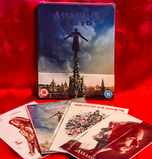 Assassins Creed 3D Blu-ray Zavvi Exclusive Limited Edition SteelBook + Art Cards