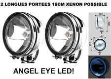 PROMO! 2 SUPER PHARES 16CM A LED!  TYPE LIGHTFORCE HELLA OSCAR! XENON POSSIBLE!
