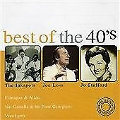 Various : Best of the 40s CD Value Guaranteed from eBay's biggest seller!