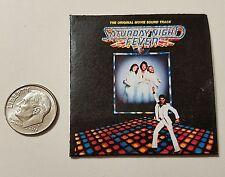 Miniature record albums Barbie Gi Joe 1/6  Playscale  Saturday Night Fever Disco