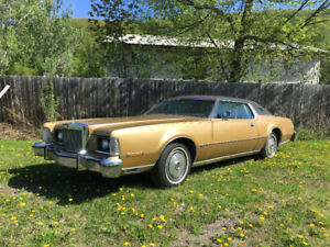 1974 Lincoln Mark IV 2 doors with 460cui V8