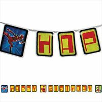 Power Rangers Red Ranger Happy Birthday Banner Party Supplies Decorations