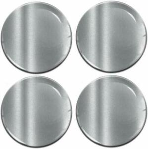 56mm-3D-Gel-Domed-Car-Wheel-Centre-Hub-Center-Stickers-Cap-Silicone-Gloss-Silver