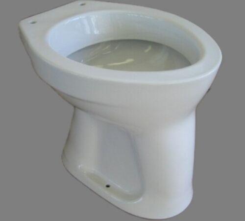 NOVO-BOCH Stand-WC Toilette Abgang Boden Senkrecht AO Weiss