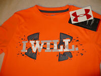NEW NWT UNDER ARMOUR UA BOYS KIDS 2-in-1 TEE T-SHIRT PULLOVER L/S SIZE SZ S M