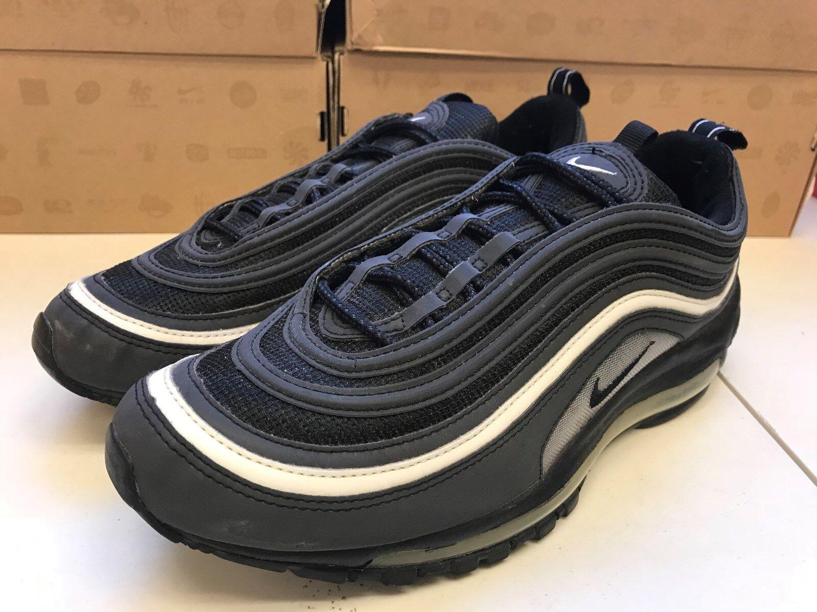 Mens 10 Nike Air Max 97 Black 312641-001