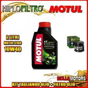 KIT TAGLIANDO 2LT OLIO MOTUL 5100 10W40 HONDA SH300i C-ABS 300CC 2016- + FILTRO