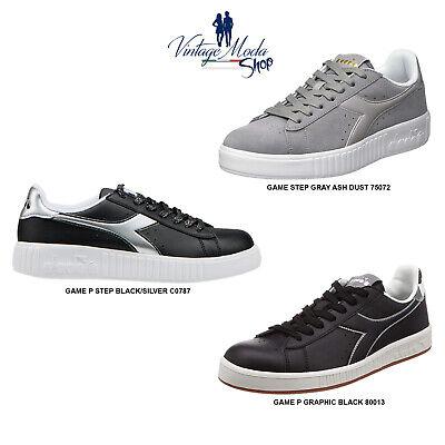 Diadora Game P Step Graphic Calzature Scarpa Donna Uomo Sport Casual Shoes | eBay