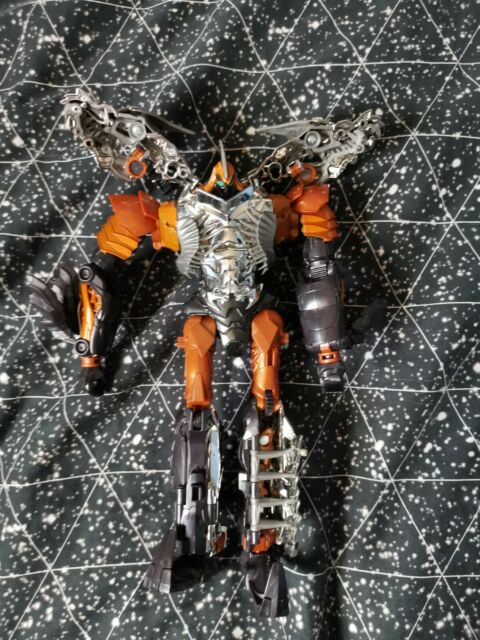 Transformers Age of Extinction Generations Leader Class Grimlock action figure