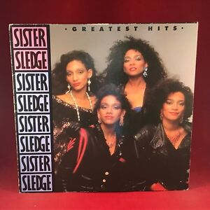 SISTER-SLEDGE-Greatest-Hits-1986-UK-vinyl-LP-EXCELLENT-CONDITION-best-of