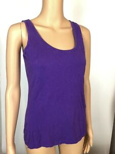 Spiritual Gangster Women/'s NWOT Purple Love Amor Muscle Tank Top Size X-Small