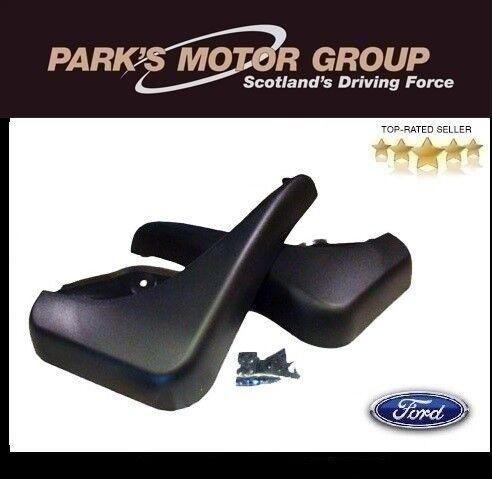 New Genuine Ford Focus 3/5-Door Rear Mudflap Set for 2007-2010 - 1521017