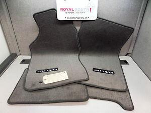toyota tacoma xtracab light charcoal carpet floor mats genuine oem oe ebay. Black Bedroom Furniture Sets. Home Design Ideas