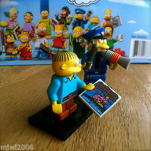 LEGO 71005 Chief Wiggum Simpsons Series 1 Collectible Minifigure NEW /& SEALED