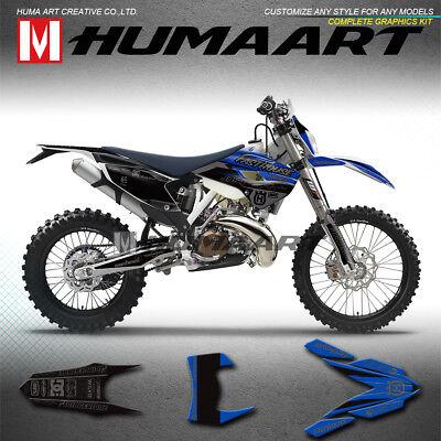 Husqvarna TC FC FE swingarm decals graphics stickers motocross enduro 2014 2015