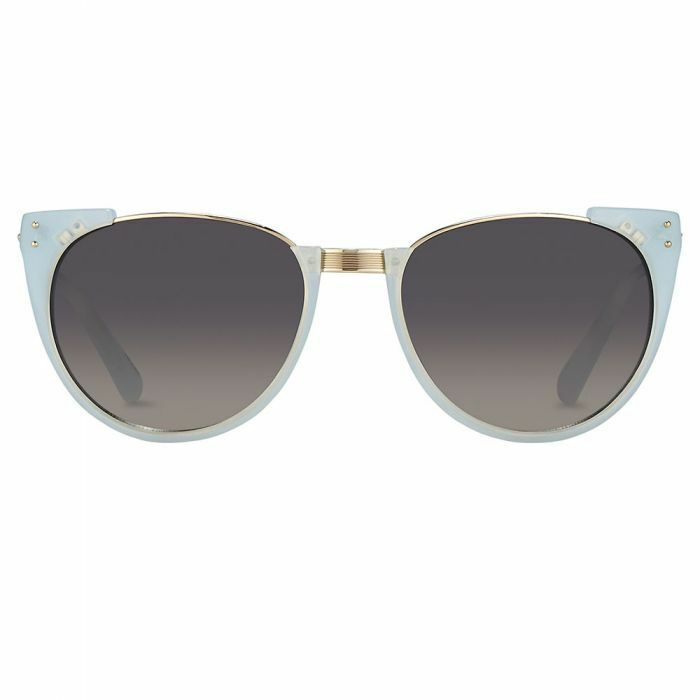 df2fa920859 Linda Farrow 136 C36 Cat Eye Sunglasses Spearmint for sale online