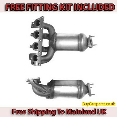 Fit with VAUXHALL ASTRA Catalytic Converter Exhaust 91020H 1.4 (Fitting Kit Incl