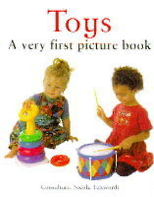 """1 of 1 - """"VERY GOOD"""" , Toys: A Very First Picture Book (Baby Books), Book"""