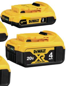Genuine DEWALT 20V Max Premium XR 4.0Ah Lithium-Ion Battery 1 FREE 2Ah MAX batt