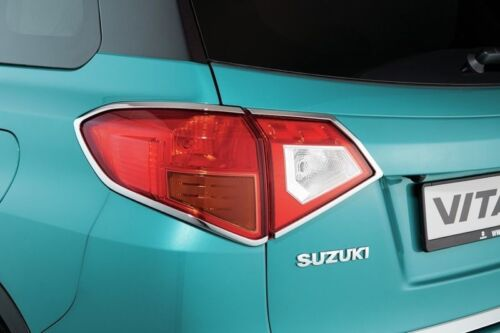 Genuine Suzuki VITARA Rear Tail Light Chrome Surround Trims Set 990E0-54P28-CTB