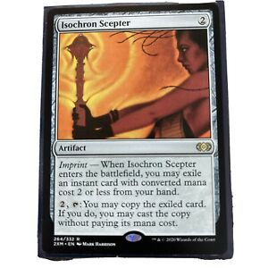 1 x MTG Isochron Scepter Double Masters Mint//Near-Mint English
