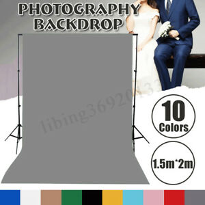 5x7ft-Solid-Color-Photography-Background-Screen-Cotton-Studio-Backdrop-Photo-Pro