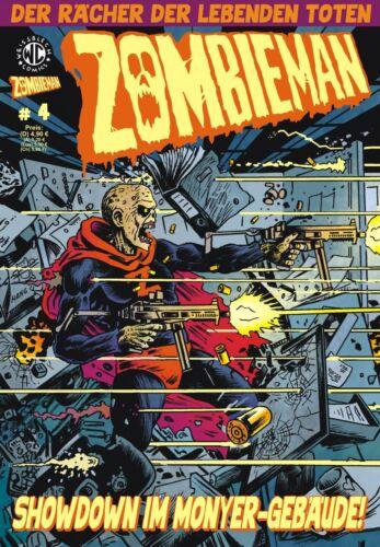 #1,2,3,4 - Einzelbände zur Auswahl; Weissblech Zombieman