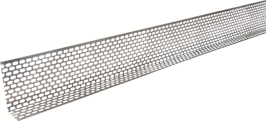 Lüftungsprofil ALU 2,5 - 50 m 30, 50, 60, 70, 90, 120mm hoch 30mm Schenkel