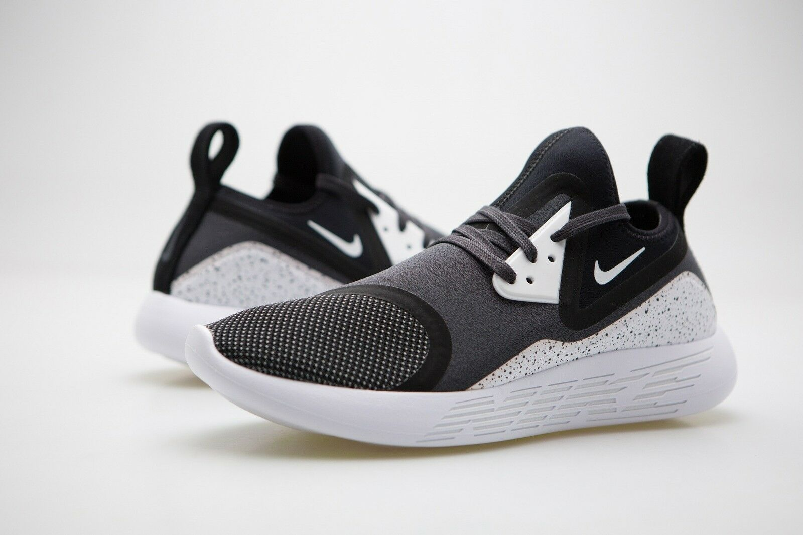 Nike lunarcharge Hombres lunarcharge Nike Premium le Negro Blanco faa28a