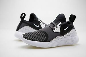 finest selection 198e8 01c8c Image is loading 923284-999-Nike-Men-Lunarcharge-Premium-Le-Black-