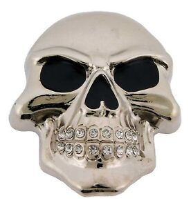 Mens-Womens-Skulls-Skeleton-Belt-Buckle-Rock-Rebel-Usa-Silver-Metal-Goth-Tattoo