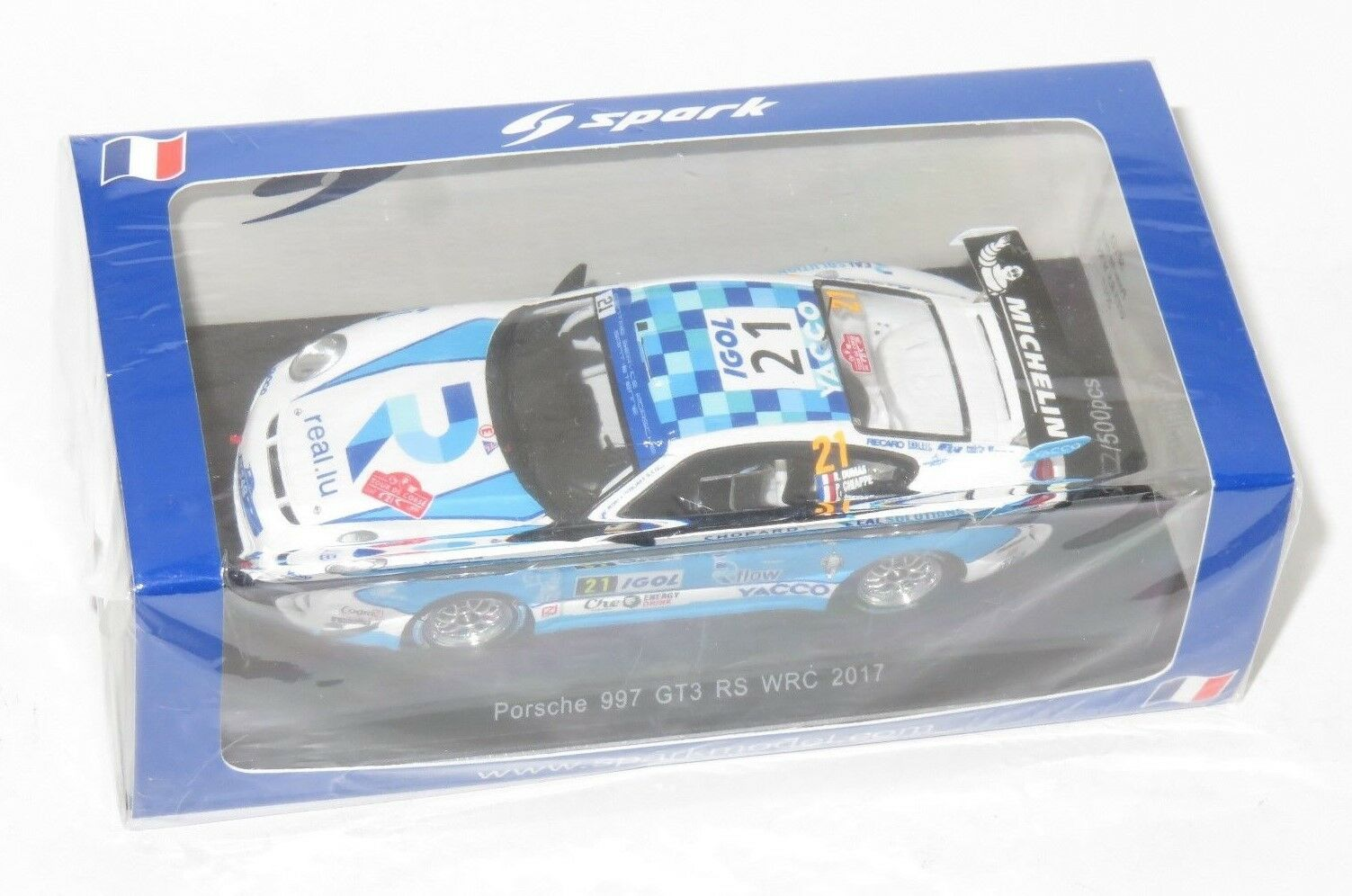 1/43 PORSCHE 911 (997) GT3 RS Rallye de France Tour de Corse 2017 R. Dumas | Pour Gagner Un Haut Admiration Et Est Largement Trusted Et à L'étranger
