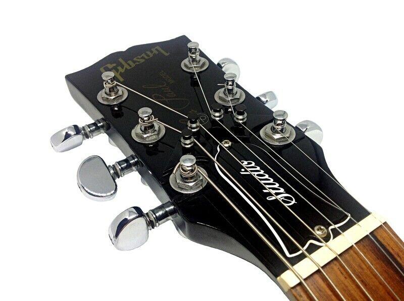 La cadena Butler V3-Negro-negro-plata Premium Premium Premium nuevo mundo de afinación de guitarra  de moda