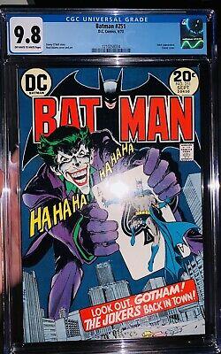 Salvation Run #7 CGC SS 9.8 Neal Adams Variant Joker Batman