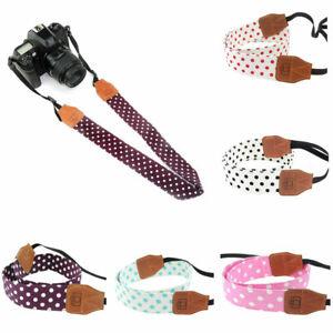 FP-Universal-Polka-Dots-Wide-Hanging-Travel-Shoulder-Strap-for-DSLR-Camera-Cool