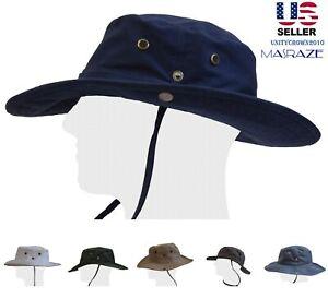 Boonie-Bucket-Hat-Fisherman-Military-Safari-Cap-100-Percent-Cotton-Sun-Masraze