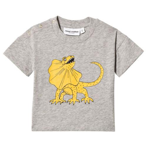 Mini Rodini Grey Melange T-Shirt