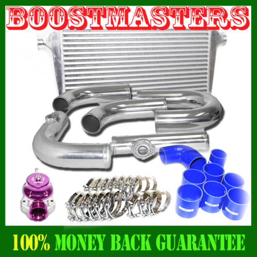For Bolts on 05-08 Mustang GT Intercooler 31X13X3 /& Piping Kit /& BOV RS Type