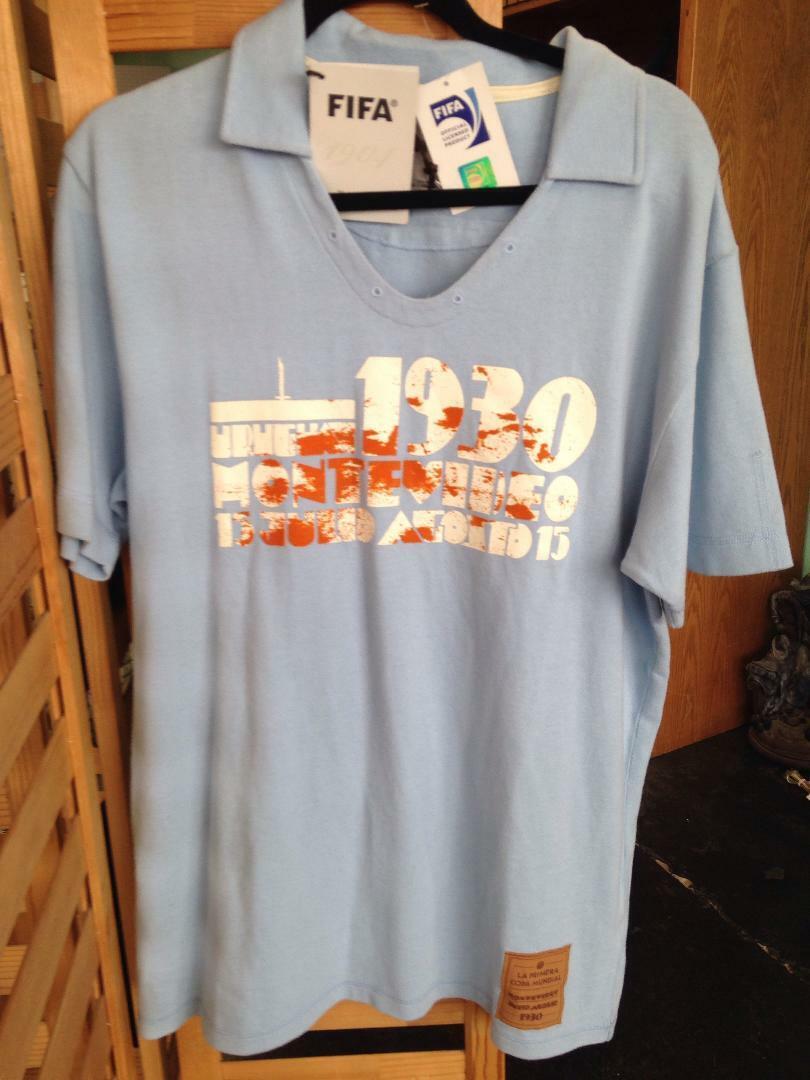 RAREFIFA 1930 URUGUAY WORLD CUP Football Soccer Shirt Futbol CamisetaXL  NWT