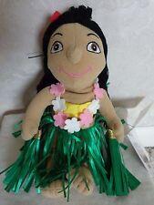 "Walt Disney It's a Small World Hawaiian Girl 8"" Bean Bag Toy for Disneyland"